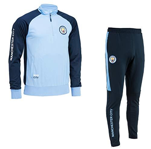 Manchester City Chándal Training fit Colección Oficial - Talla de Hombre