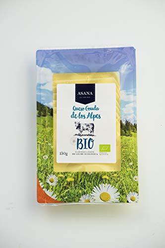 Asana Bio - Queso Gouda envasado, 130 g
