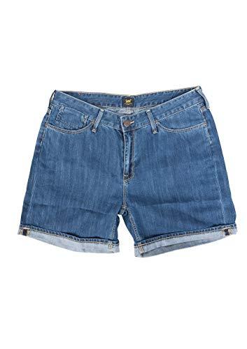 Lee Damen Jeans Short Boyfriend -Blau - AS, Größe:W 29, Farbe:AS (GIAQ)
