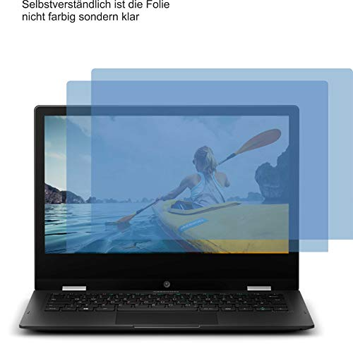 4ProTec I 2X Crystal Clear klar Schutzfolie für Medion Akoya E3222 Bildschirmschutzfolie Displayschutzfolie Schutzhülle Bildschirmschutz Bildschirmfolie Folie