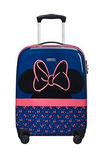 Samsonite Disney Ultimate 2.0 - Spinner S Kindergepäck, 54.5 cm, 33 L, Blau (Minnie Neon)