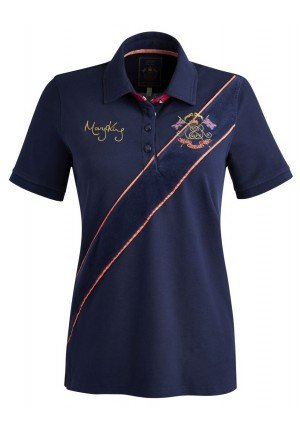 TOM JOULE S_MARYKING DAMEN POLOSHIRT-pink/navy