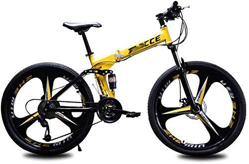 Qinmo Mountainbike Male Querfeldein Variable Speed Fahrrad Doppelstoßdämpfung Leichtklapp Fahrrad 26 Zoll 27 Geschwindigkeit Junge Kursteilnehmer Adult Female