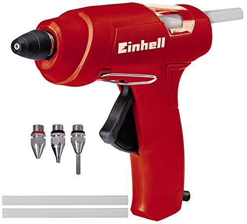 Einhell 4522170 TC-GG 30 Pistolla Incollatrice, 30 W, 240 V, Rosso