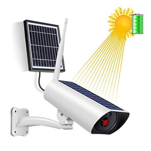 Goldyqin Solar Power 4G Sim Card Wireless Ip Camera Ricarica Batteria 1080P Ir Night View Pannello Esterno per videosorveglianza