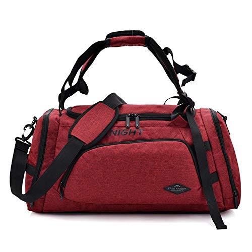 Sport Sporttasche, einfach zu tragen zusammenklappbarer Mit Schultergurt, mit Schuhfach kann diese Sporttasche auch for die Reise Seesack, Badetasche, Yoga Tasche, Sport verwendet wird Boxsacktraining