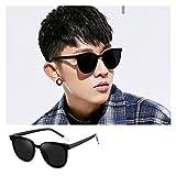 SSN Versión Coreana De La Conducción De Moda Red Mirror Piloto Gafas De Sol Celebrity Street Gafas De Sol Gafas De Sol Femenino Celebridad Mismas Gafas (Color : A)