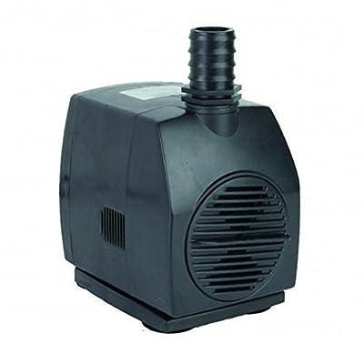 Jebao WP-3000 Submersible Fountain Pump 790 GPH, Black