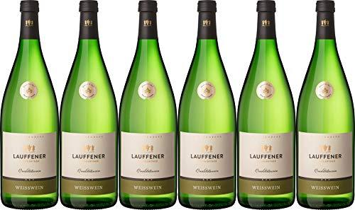 Lauffener Weingärtner Weißwein Cuvée 1L Halbtrocken (6 x 1.0 l)