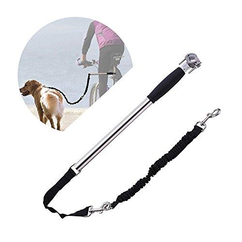 Galapara jogging hondenriem hands free dog fiets trainingslijn Exerciser Walker roestvrij staal hondenbenodigdheden voor buiten
