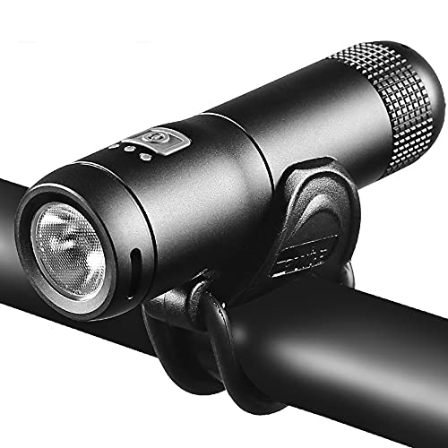 QQWJSH Luz de Bicicleta Ligera, Recargable por USB, LED, Linterna para Bicicleta de montaña, luz Fuerte, Recargable para Bicicleta, luz Nocturna para Montar, Linterna, iluminación