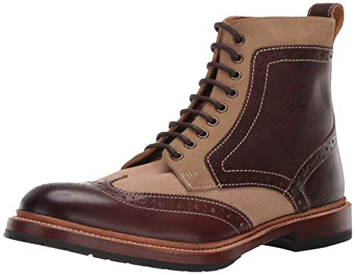 Stacy Adams Herren M-2 Wingtip Lace up Boot Stiefelette, Braun/Mehrfarbig, 38.5 EU