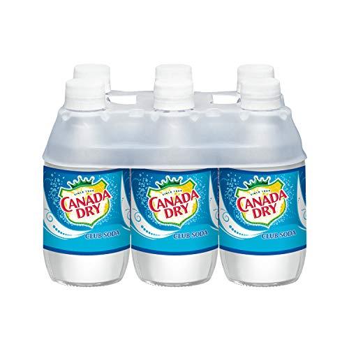 Canada Dry Club Soda, 10 Fl Oz (pack of 6)