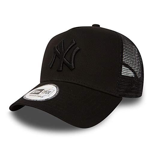 New Era Trucker Mesh Cap in Bundle with UD Bandana New York Yankees Los Angeles Dodgers Ny BlackBlack OSFA One Size fits All