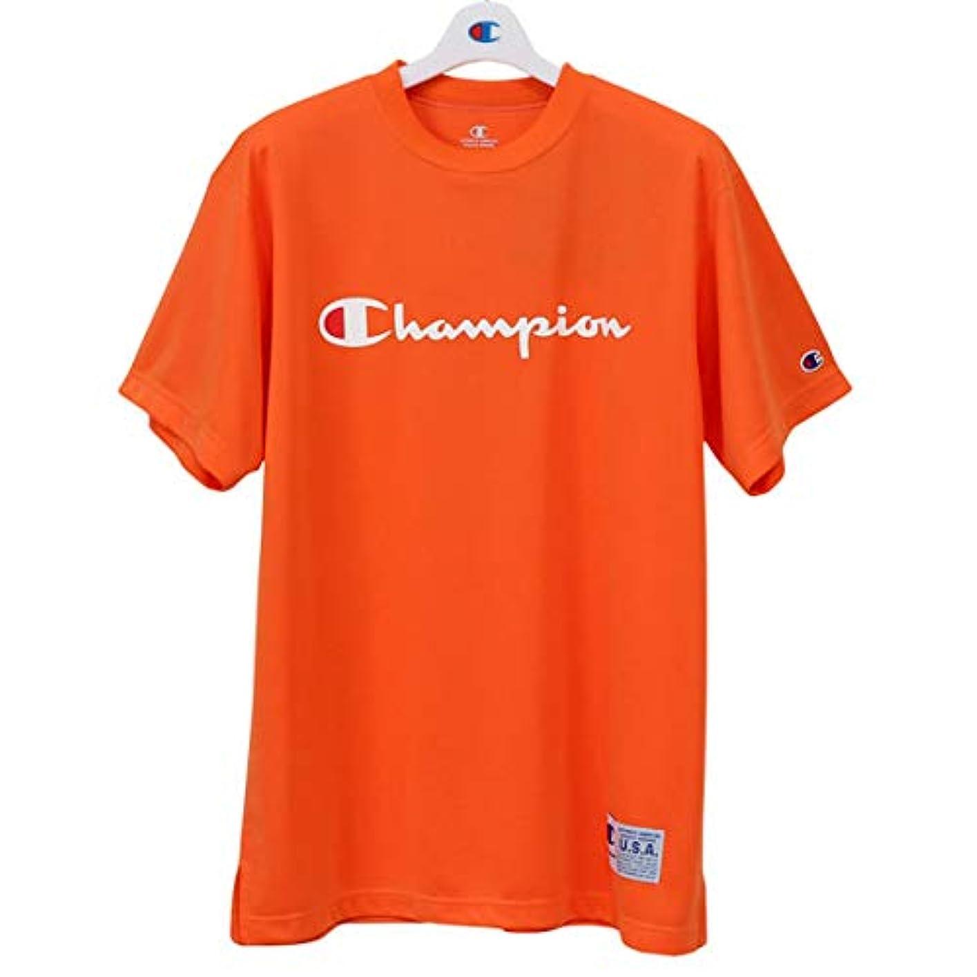 共役モチーフ広々とした[チャンピオン] ドライセーバー ティーシャツ C3-MB353 バスケットボールウェア 19SS DRYSAVER T-SHIRTS メンズ