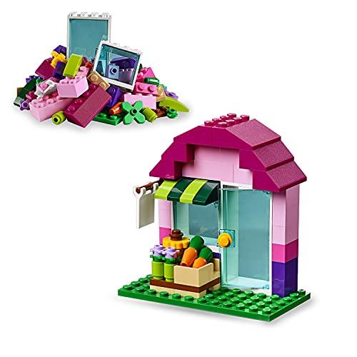 LEGO 10692 Classic Creative Bricks, Classic Colorful Building Set with Storage Box (221 Pieces)