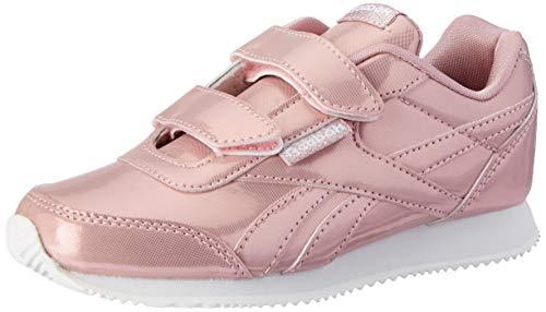 Reebok Mädchen Royal Cljog 2 2v Traillaufschuhe, Mehrfarbig (Metallic/Pink/White 000), 32 EU