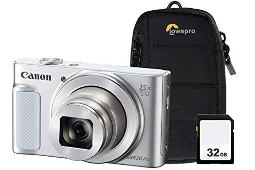 Canon PowerShot SX620 HS - Kit de cámara para Canon (32 GB, SDHC, Clase 10)