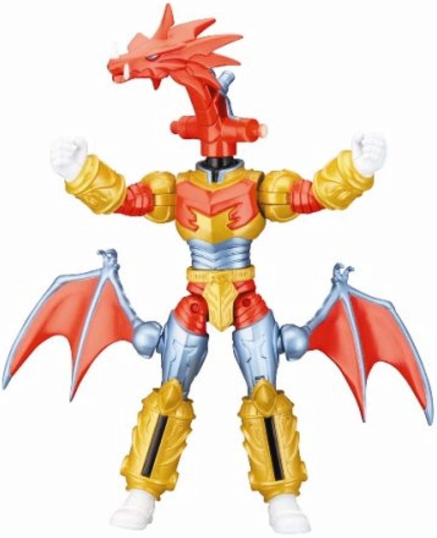 Battlized Red Dragon Fire Ranger   Power Rangers Mystic Force
