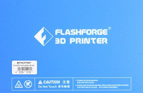 Flashforge 523879 Printbed-Bluesticker Printer 3D