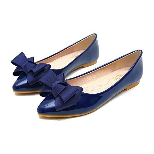 Kimpola Zapatos Mujer Bailarinas Plano Lindo Estilo Retro Salvajes Cucharada Puntiaguda Bombas...