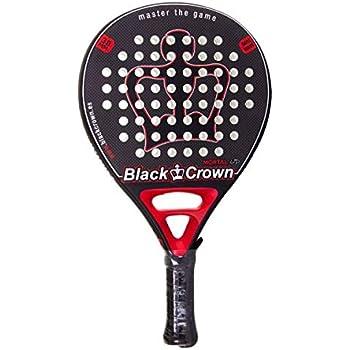 Pala De Padel Black Crown Mortal: Amazon.es: Deportes y aire libre