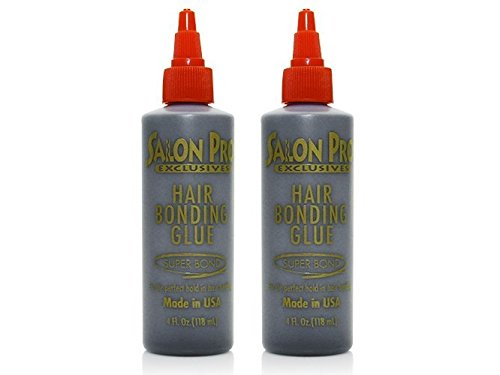 [Salon Pro] Exclusive Anti-Fungus Hair Bonding Glue (4 oz)(Pack of 2)
