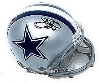 Emmitt Smith Dallas Cowboys Signed Autograph Mini Helmet Steiner Sports Certified