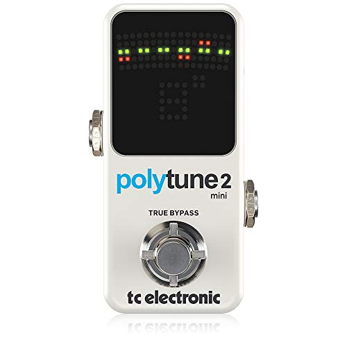 TC Electronic Polytune 2 Mini Pedal Tuner