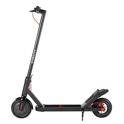 Coolautoparts - Patinete eléctrico plegable para adultos, velocidad de hasta 25 km/h,...