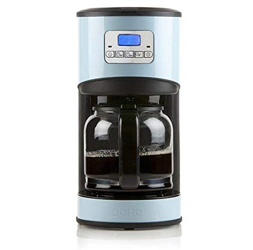 Domo Kaffeemaschine programmierbar blau