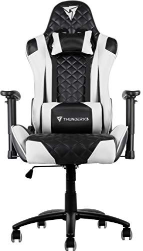 ThunderX3 Spain TGC12BW Silla Gaming, Blanco