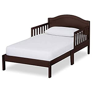 Dream On Me Sydney Toddler Bed in Espresso, Greenguard Gold Certified