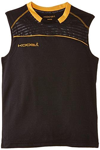 Kooga Sportshirt Dri-Lite Weste Small schwarz/goldfarben