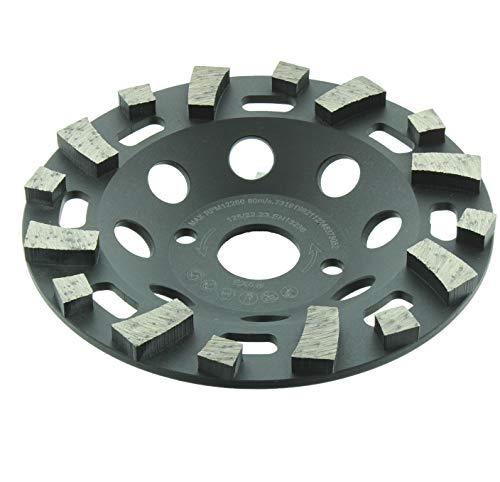 Diamant Topfschleifer ABRASIV CUP SPEZIAL 125x22,23mm für Abrasive Materialien, weicher Kalksandstein frischer Estrich Asphalt Kalk- und Zementputz
