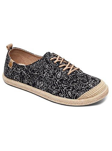Roxy Flora Lace Up - Shoes - Baskets - Femme - EU 37 - Noir