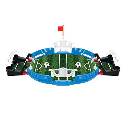TOYANDONA Mini Mesa de Futbolín Juegos de Mesa de Fútbol para Niños Adultos
