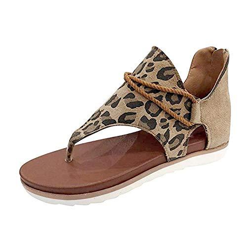 Sandalias planas para mujer Nuevas hebillas sólidas Diapositivas para mujer Cómodo calzado...