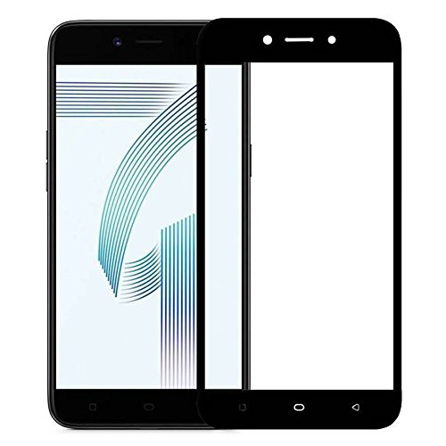 AMZER HD Kristal Clear Tempered Glass Screen Protector Full Coverage Shield Screen Protector for Oppo A71 - HD Clear Glass Screen Guard