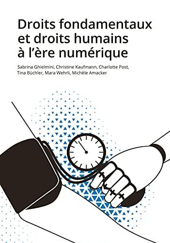 Couverture du livre Droits fondamentaux et droits humains à l'ère numérique