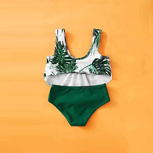 YWLINK Parte Superior del Bikini para NiñOs,Conjunto De Bikini De Cintura para NiñOs Y NiñAs, con Parte Superior Y Troncos De NatacióN, Parte Inferior De TriáNgulo,Trajes De BañO De Verano