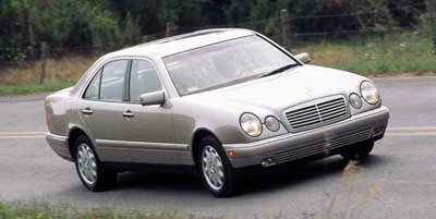 1999 Mercedes Benz E320 4 Door Sedan 32L All Wheel Drive
