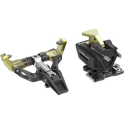 Dynafit Superlite 175 Reliures pour ski de randonnée, noir/jaune, Z12