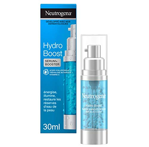 Neutrogena Hydro Boost Sérum Perles Booster Survitaminé, Soin Visage Hydratant à l Acide Hyaluronique, 30ml
