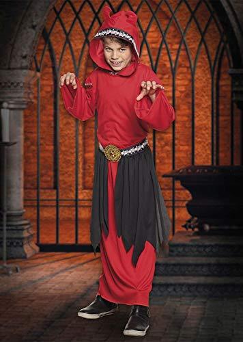 Boland 78118 - Costume di Carnevale, Motivo: emon, da 4 a 6 Anni, Colore: Rosso/Nero