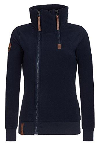 Naketano Female Zipped Jacket Hamza Bau Ma J Dark Blue, XS