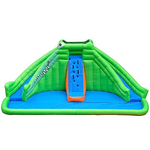 TXOZ-Q Castillo Inflable Trampolín Kid Piscina Juguete Que despide Casa Slide Gran Fiesta Infantil Material Adecuado for Adultos (690 x 400 x 380cm)