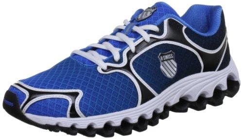 K-Swiss Tubes 100 Dustem~BRLNT Blue/Black Fade~M Tube 100 Dustem-M - Zapatillas de Fitness para Hombre, Color Azul, Talla 42