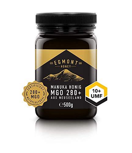 Egmont Honey Manuka-Honig MGO 280+ original aus Neuseeland UMF 10+ (500g)