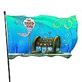 SpongeBob Double-sided vertical yard banner indoor outdoor garden flag 3x5 inches